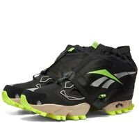 Reebok Instapump Fury OG Trail Shroud Black Volt Neon UK 8 US 9 Classic RRP £160