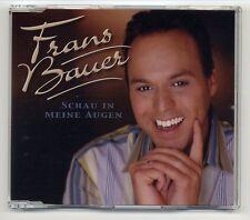 Frans Bauer CD Schau In Meine Augen - 1-track CD - SAMPCS 13586 1 - promo
