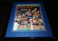 Alvan Adams Signed Framed 1976 Sports Illustrated Magazine Cover Suns