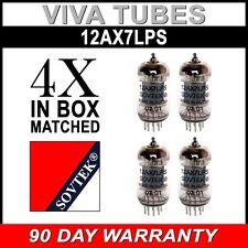 New Matched Quad (4) Sovtek 12AX7LPS / ECC83 12AX7 Vacuum Tube FREE SHIP