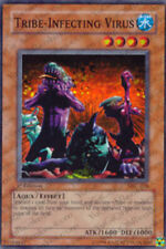 YuGiOh Tribe-Infecting Virus - MFC-076 - Super Rare - 1st Edition Moderately Pla