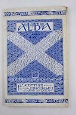 1948*ALBA*SCOTTISH MISCELLANY:GAELIC &ENGLISH*No 1*SCARCE*CALUM/SORLEY MACLEAN*