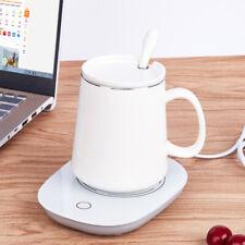 Кофейная чашка с подогревом нагревательный коврик нагреватель для чая кофе молока домашнего офиса кружка с подогревом