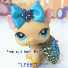 LPS Littlest Pet Shop Custom Clothes Skirt Bow Accessories Lot *CAT NOT INCLUDED