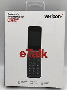 New! Sealed Verizon eTalk Flip Phone 4G LTE Cellular UPC: 0044476857324)