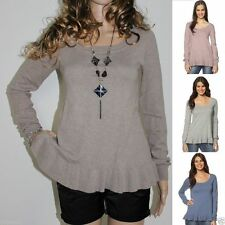 Woolen Long Sleeve Thin Knit Jumpers & Cardigans for Women