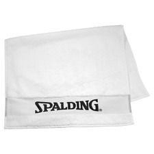 Spalding Basketball Bench Towel Towel White 23 5/8x39 3/8in Cotton