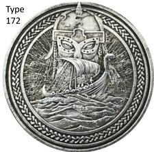 Hobo Nickel Morgan Dollar Viking Pirate Skull Skeleton Dead Sexy US Casted Coin