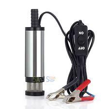 38mm Tauchpumpe Wasserpumpe Bootpumpe Pumpe Transfer Fr Diesel Öl Heizöl Auto12V