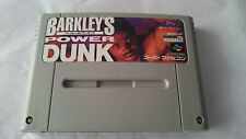 BARKLEY BARKLEY´S POWER DUNK SUPER FAMICOM JAPONÉS NINTENDO JAP.NTSC-J.SNES.SFC