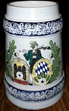 "Vintage Werner Corzelius Pottery ""Sport Shooter"" Beer Stein - West Germany"
