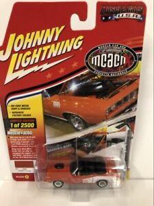 1971 Plymouth Cuda Convertible Hemi Orange 1:64 Johnny Lightning