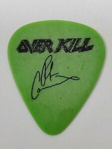 OVERKILL CONCERT TOUR GUITAR PICK (80S POP HAIR HARD ROCK HEAVY METAL BAND)