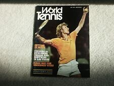World TENNIS Magazine GERULAITIS July 1975 Newcombe Connors
