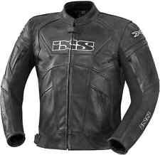 Blouson Moto Cuir Homme IXS Hype Noir 50 52 54 56 Noir ou Noir/Blanc
