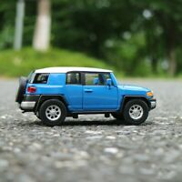 "Toyota FJ Cruiser Model Car 5"" Toys 1:36 Open two doors Collection Alloy Diecast"