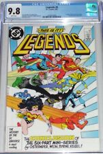 Legends #6 CGC graded 9.8 (April 1987) 1st appearance of the new Justice League
