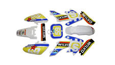 CRF50 Wilvo Plastics and Graphics  Pitbike Stomp Demon X WPB