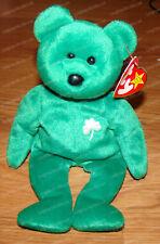Ty Beanie Baby Erin The Bear 1997 Retired PVC Pellets 4th Gen