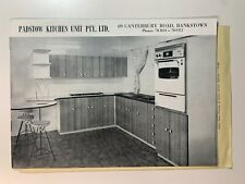 Vintage Catalogue's - Padstow Kitchen Unit Catalogue May 1964