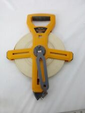 Komelon 300 foot reel tape measure, engineers scale