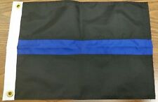 3' x 5' Thin Blue Line Sewn Nylon Flag Police Cop Made in the USA