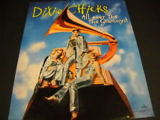 Dixie Chicks are All Over The Grammys original 2000 Promo Poster Ad