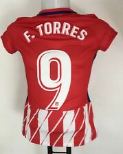 ATLETICO MADRID 2017/18 S/S HOME SHIRT TORRES 9 BY NIKE LADIES MEDIUM NEW
