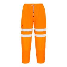 Portwest hombre alta visibilidad Pantalón de chándal ropa Trabajo Naranja Varios