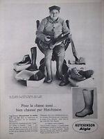 PUBLICITÉ PRESSE 1961 HUTCHINSON AIGLE POUR LA CHASSE 120 MODELES - ADVERTISING