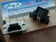 5-520421-1 Connector 4 Contact(s) 4 POS SDL SIDE ENTRY 4PIN Female SIMILAR RJ45
