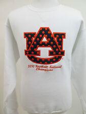 Russell Auburn Tigers 2010 National Champions Embroidered Football Sweatshirt L