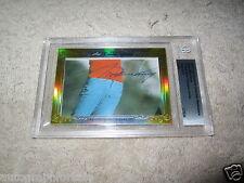 Seve Ballesteros 2014 Leaf Masterpiece Cut autograph signed auto golf card 1/1