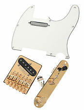 Telecaster Upgrade Kit Fender Vintage Noiseless Pickups FCH Babicz Bridge PA