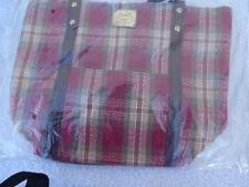 Longaberger Handbag Tote Orchard Park Print- New- Free Shipping