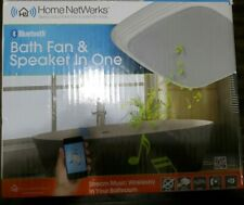HOME NETWERKS 7130-04-BT BLUETOOTH SPEAKER  70CFM Exhaust Fan BRAND NEW
