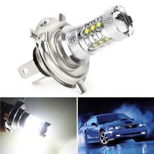 1x H4 80W LED Fog DRL Driving Car Head Light Lamp Bulbs White Super Bright Light