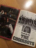 THE CHOIRBOYS Japanese RARE Film Cinema Souvenir PROGRAMME Charles DURNING 1977