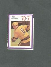 1970-71 Esso Hockey Stamp Ross Lonsberry Los Angeles Kings