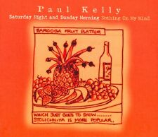 PAUL KELLY - Saturday Night and Sunday Morning DigiPak PROMO CD Single Australia