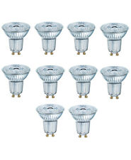 OSRAM LED Star vidrio par16 gu10 80 36 ° 6,9w = 80w 575lm calido White 2700k nodim 10er