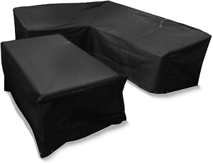 Bosmere Protector 6000 Modular L Shape Dining Set Cover, Right Side Long, Large