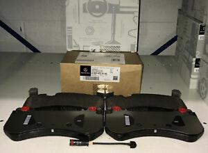 Mercedes AMG OEM Front Brake Pads Set With Sensor 2014 to 2020 S63 AMG Sedan 222