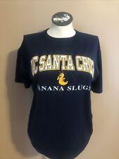 vtg UC Santa Cruz Banana Slugs Pulp Fiction t shirt Men's Large John Travolta