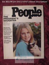 PEOPLE October 21 1974 SUSAN FORD Arnold Palmer Rubin Carter Labelle Art Carney