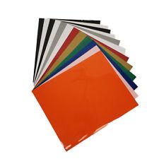 "IRIS Heat Transfer Vinyl HTV 10""x 12"" 12 Sheet Bundle"