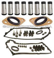 Valve Cover Gaskets Spark Plug Tubes Sensor Seal for BMW X5 E60 E64 E65 E66 12pc