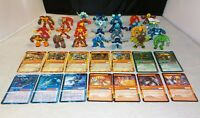 Gormiti Action Figures lot of 26 Figures and 14 Cards