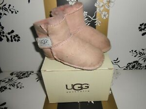 WORN UGG BOOTS DIRTY PINK IN M INFANT SIZE
