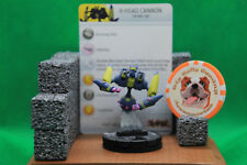 HeroClix - X-Head Cannon #014 - Rare